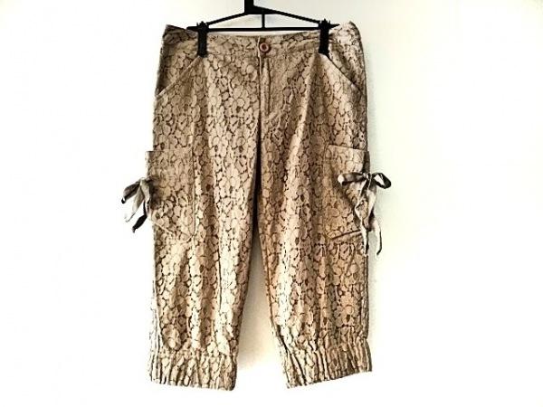 COCUE(コキュ) パンツ サイズ2 M レディース ライトブラウン