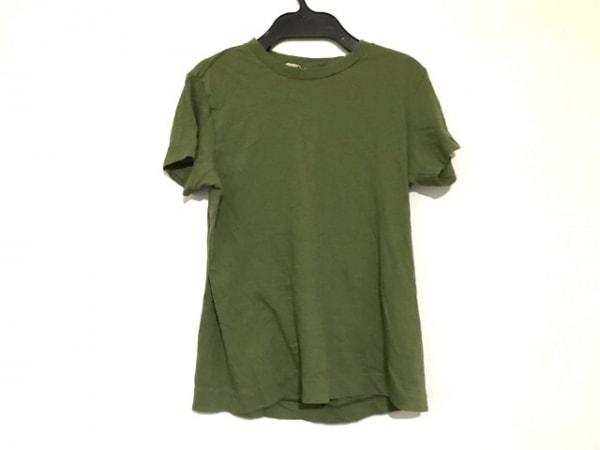 AURALEE(オーラリー) 半袖Tシャツ レディース グリーン AURALEE for Ron Herman