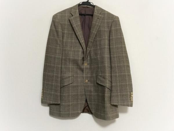 リチャードジェームス ジャケット サイズ40S メンズ美品  ダークブラウン×グリーン