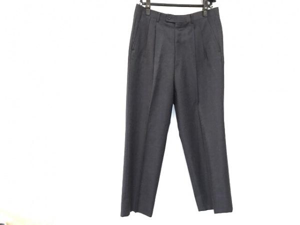 LANVIN(ランバン) パンツ サイズ88 メンズ美品  ネイビー 2タック
