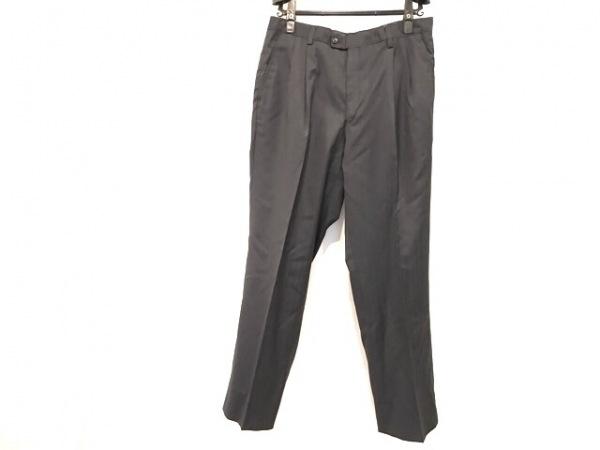 ランバンコレクション パンツ サイズ88 メンズ美品  ダークネイビー ストライプ