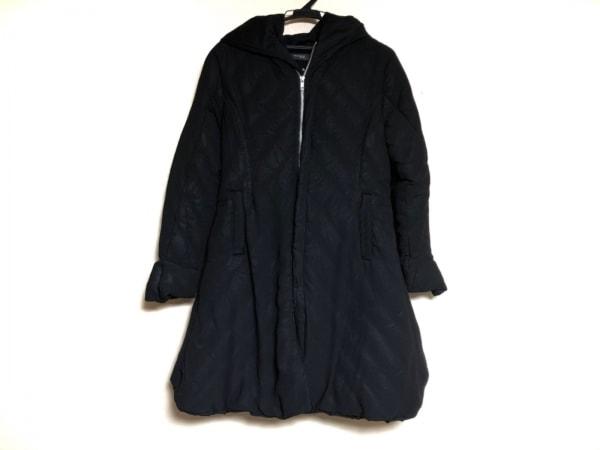 JNBY SINCE1994 ダウンコート サイズ38 M レディース 黒 ダブルジップ/冬物