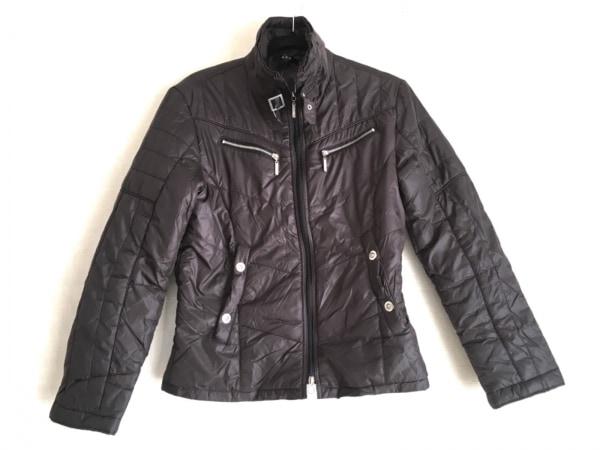 アトリエサブメン ダウンジャケット サイズ50 メンズ美品  黒 冬物/ジップアップ