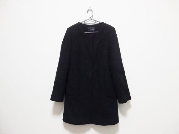 m's select(エムズセレクト) コート サイズ38 M レディース 黒 冬物