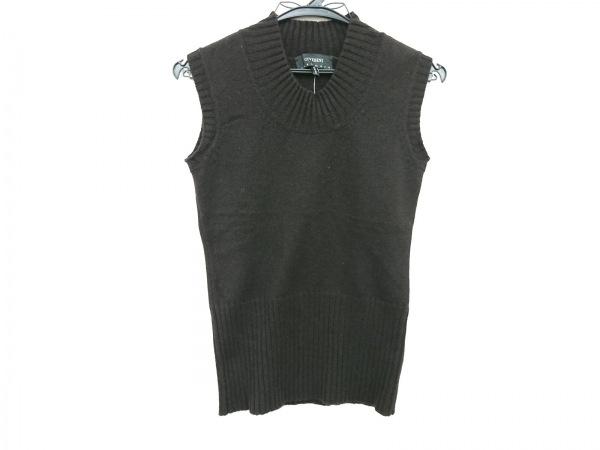チヴィディーニ ノースリーブセーター サイズ40 M レディース美品  黒 カシミヤ