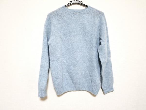 Inverallan(インバーアラン) 長袖セーター サイズ38 M レディース ライトブルー