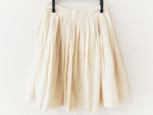 HARRODS(ハロッズ) スカート サイズ1 S レディース美品  アイボリー プリーツ