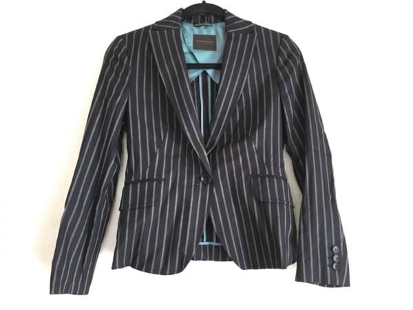 トゥモローランド ジャケット サイズ38 M レディース美品  黒×白×グリーン