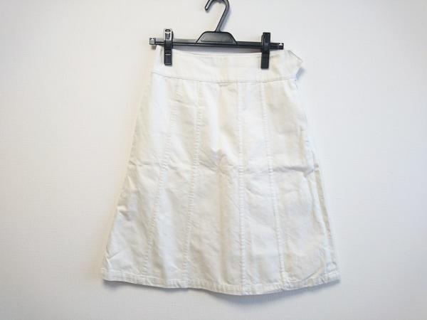 MargaretHowell(マーガレットハウエル) スカート サイズ1 S レディース アイボリー