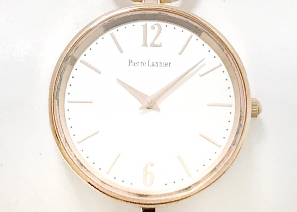PierreLannier(ピエールラニエ) 腕時計美品  061J9 レディース シルバー