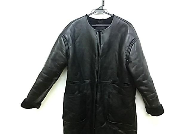 BLISS POINT(ブリスポイント) コート サイズF レディース 黒 フェイクレザー/冬物