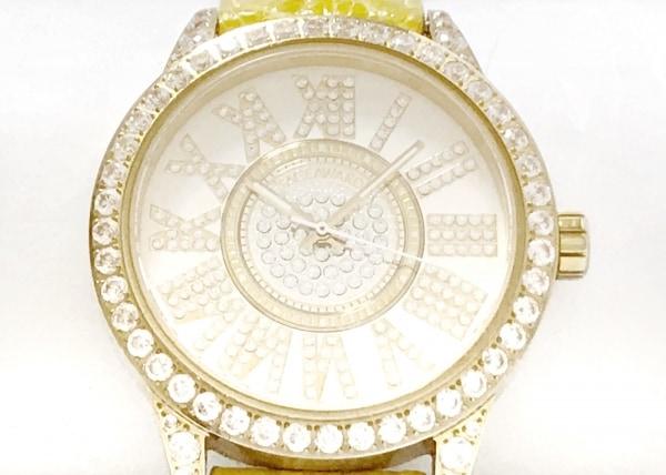 FACEAWARD(フェイスアワード) 腕時計 - レディース 社外ベルト/ラインストーンベゼル
