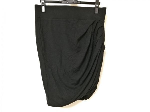 Helmut Lang(ヘルムートラング) ミニスカート レディース美品  黒