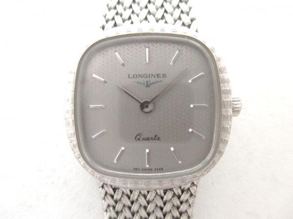 LONGINES(ロンジン) 腕時計美品  - - レディース シルバー