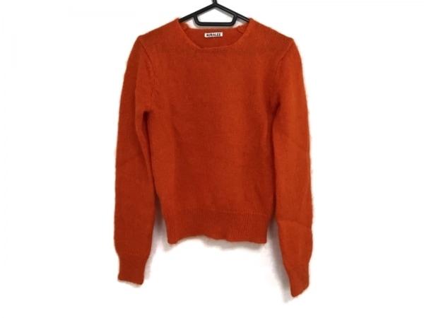 AURALEE(オーラリー) 長袖セーター サイズ0 XS レディース オレンジ