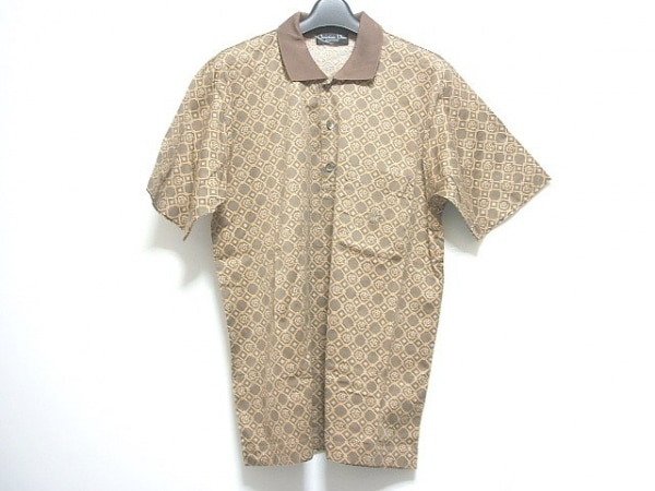 クリスチャンディオールムッシュ 半袖ポロシャツ サイズL メンズ