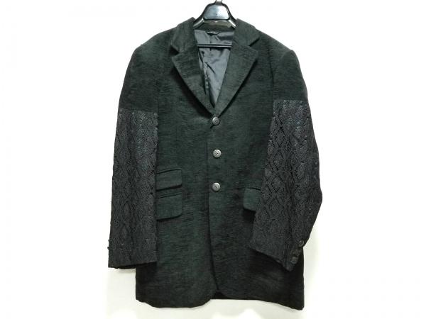 YOSHIYUKI KONISHI(ヨシユキコニシ) ジャケット サイズ3 L メンズ 黒 レース