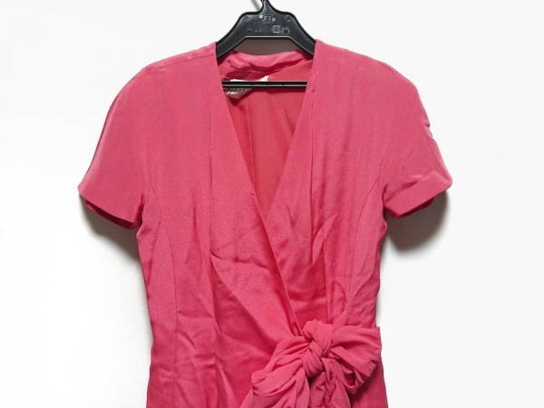 GENNY(ジェニー) ワンピース サイズ38 M レディース美品  ピンク カシュクール