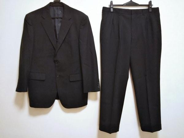 DURBAN(ダーバン) シングルスーツ メンズ ダークネイビー ストライプ