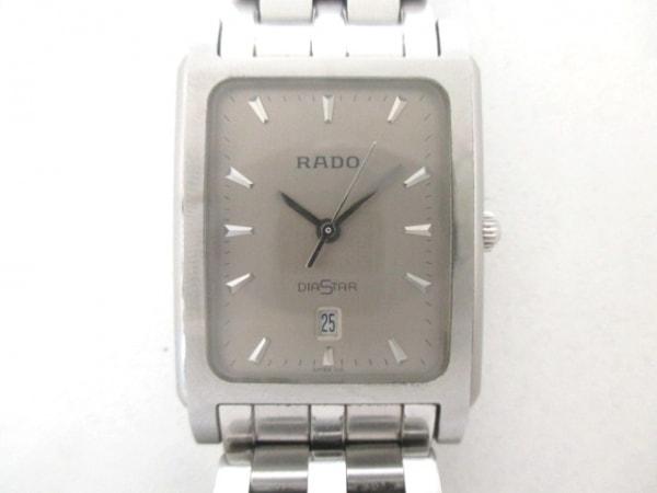 RADO(ラドー) 腕時計美品  DIASTAR 129.0563.3 メンズ シルバー