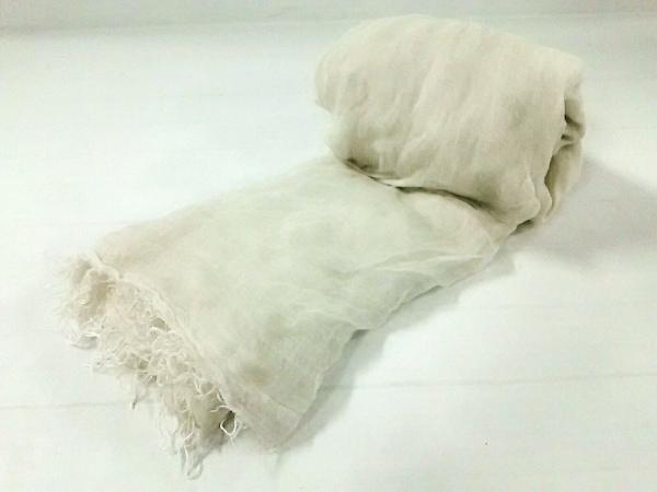 ファリエロサルティ ストール(ショール)美品  アイボリー 天然繊維×シルク
