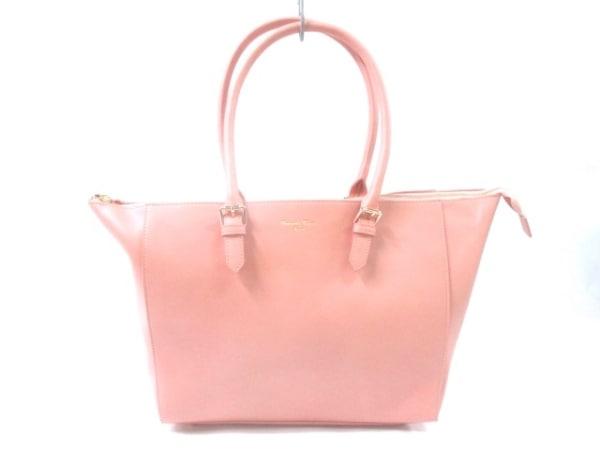 サマンサタバサデラックス ショルダーバッグ美品  ピンク 合皮