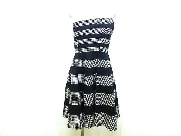 BETSEY JOHNSON(ベッツィージョンソン) ドレス サイズ4 S レディース 黒×白
