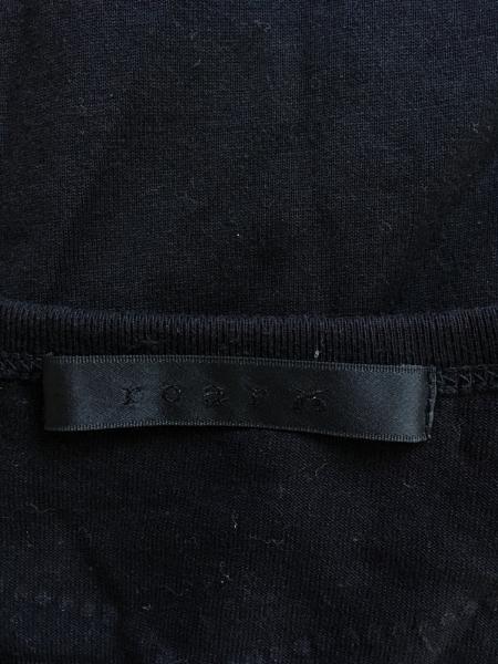 roar(ロアー) 半袖Tシャツ サイズ2 M メンズ美品  黒 Vネック/ラインストーン