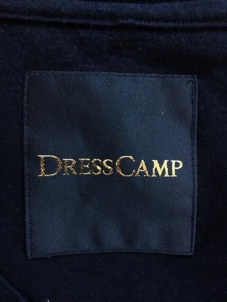 DRESS CAMP(ドレスキャンプ) 長袖Tシャツ サイズ44 L メンズ美品  黒 Vネック
