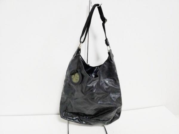 jack gomme(ジャックゴム) トートバッグ 黒 化学繊維 1