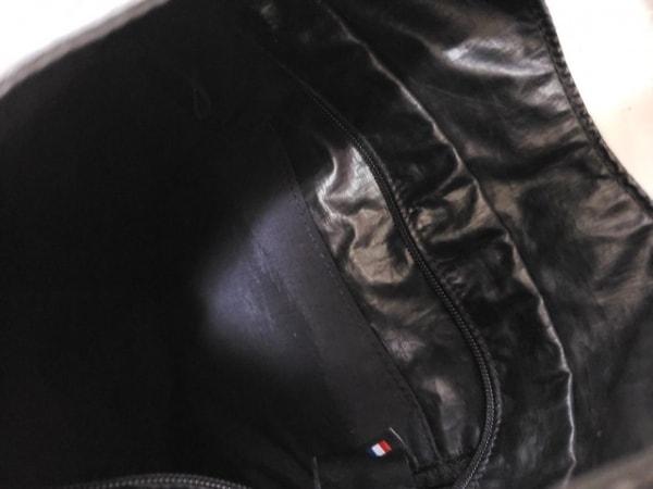 jack gomme(ジャックゴム) トートバッグ 黒 化学繊維 5