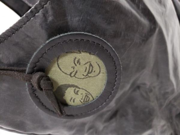 jack gomme(ジャックゴム) トートバッグ 黒 化学繊維 6