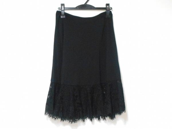 TADASHISHOJI(タダシショージ) スカート サイズXS レディース美品  黒 レース