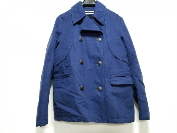ROBERTGELLER(ロバートゲラー) Pコート サイズ44 L メンズ ブルー 冬物