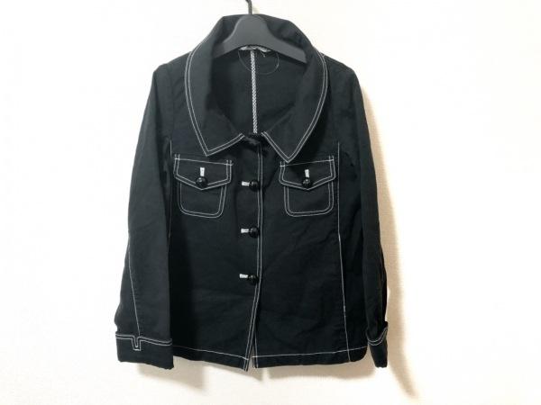 MUSEE D'UJI(ミュゼドウジ) ジャケット サイズ38 M レディース 黒