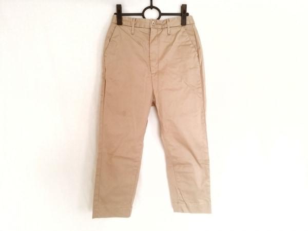 upper hights(アッパーハイツ) パンツ サイズ22 レディース ベージュ ARMY