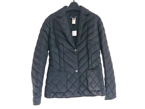 LesCopains(レコパン) ダウンジャケット サイズ42 L レディース 黒 冬物