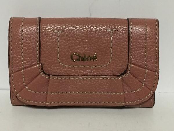 d6210043cd97 Chloe(クロエ) キーケース パラティ ピンク 6連フック レザーの中古 ...