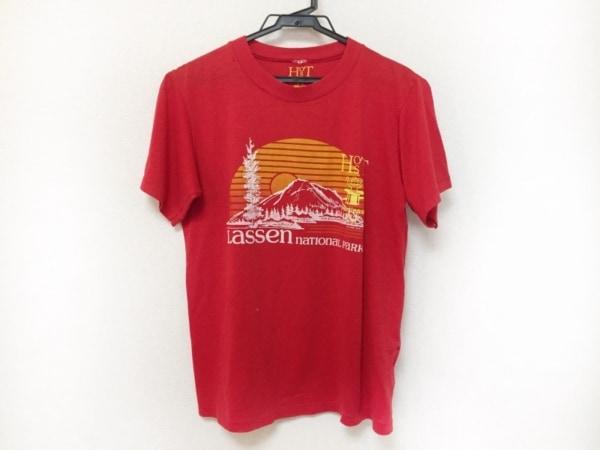 トーガ・オッズ&エンズ 半袖Tシャツ サイズ1 S レディース レッド×オレンジ×マルチ