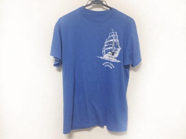 トーガ・オッズ&エンズ 半袖Tシャツ サイズ1 S メンズ ブルー×白×黒 HOST80'S TEE