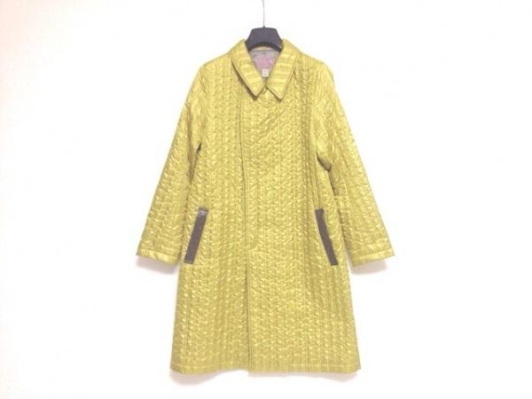 Vala(バラ) コート サイズ38 M レディース美品  イエロー キルティング/冬物