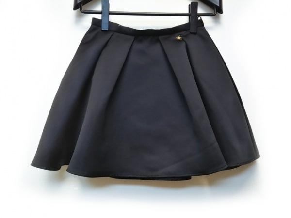 エリザベッタフランキ ミニスカート サイズ40 M レディース美品  黒
