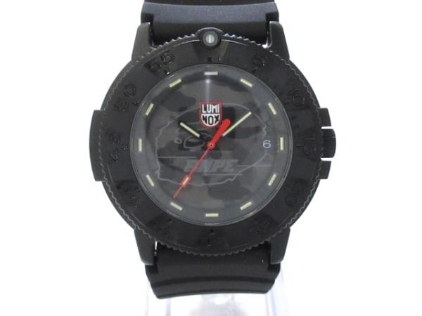 LUMINOX(ルミノックス) 腕時計美品  - メンズ グレー×ダークグレー×黒
