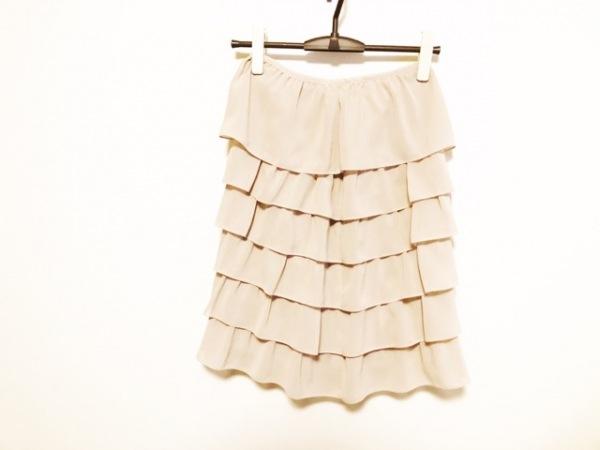 ナチュラルビューティーブラック スカート サイズS S レディース美品  ベージュ