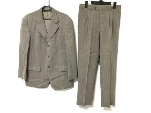 23区 HOMME(ニジュウサンク オム) シングルスーツ メンズ ライトグレー