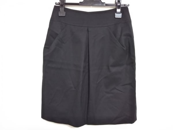 ニジュウサンク スカート サイズ40 M レディース 黒 Vingt-trois arrondissements