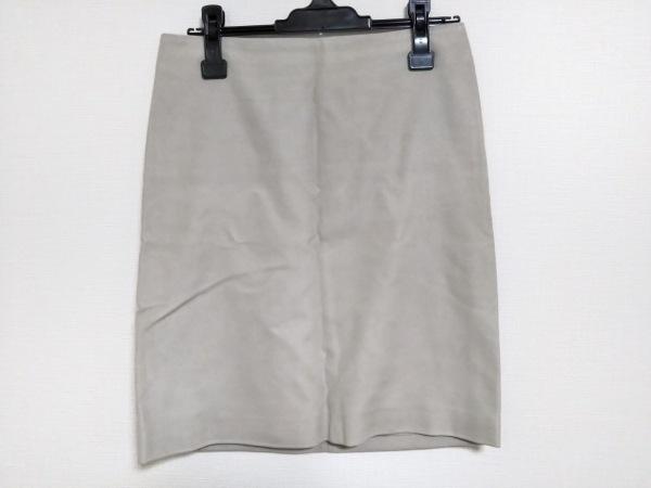 S Max Mara(マックスマーラ) スカート サイズ38 S レディース ベージュ