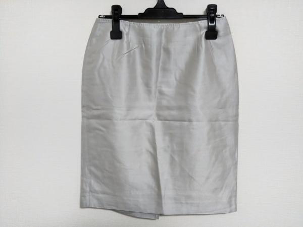 マックスマーラスタジオ スカート サイズ38 M レディース ライトグレー
