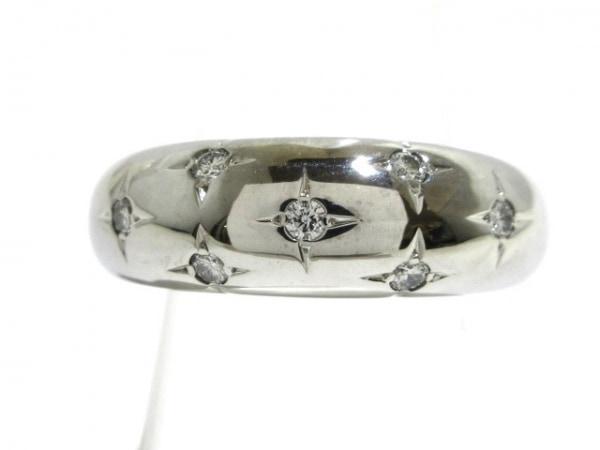CHAUMET(ショーメ) リング美品  K18WG×ダイヤモンド 7Pダイヤ
