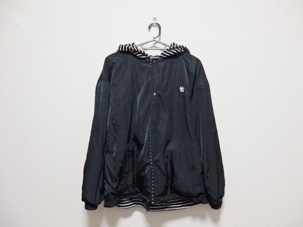 ロデオクラウンズ ブルゾン サイズM レディース美品  黒×白 冬物